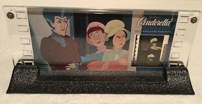 Disney Showcase Cinderella Step Family 35mm Collector Film Cels Willits  # 2577