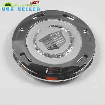 "ONE 07 08 09 10 11 13 CADILLAC ESCALADE PLAIN CREST 22"" WHEEL CENTER CAP"