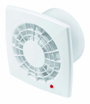 "Bathroom Extractor Fan 150mm / 6"" Humidity Sensor & Timer Kitchen Shower WGB150H"