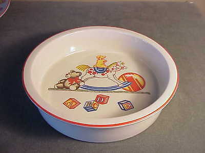 Vintage 1992 Tiffany & Co Childrens Nursery Pottery - Tiffany Toys - Cereal Bowl