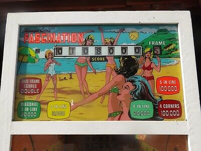 Chicago Coin Fascination arcade game Chicago Land Coin Op. show delivery