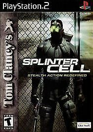 Play Station 2 Tom Clancy's Splinter Cell Video Game