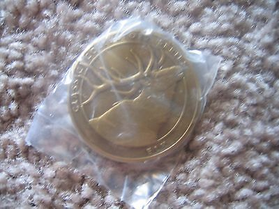 NATIONAL RIFLE ASSOCIATION COLLECTORS SERIES COIN ELK NEW