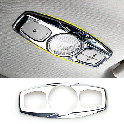 Fit For Ford Escape Kuga13- Chrome Roof Reading Light Lamp Panel Trim Cover