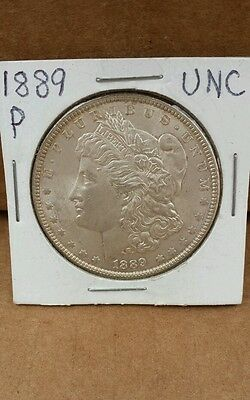 1889 P MORGAN SILVER DOLLAR! NICE COIN WITH NO RESERVE!