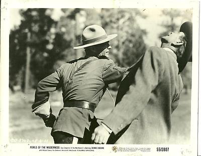 Richard Emory in Perils of the Wilderness 1956 vintage movie photo 15839