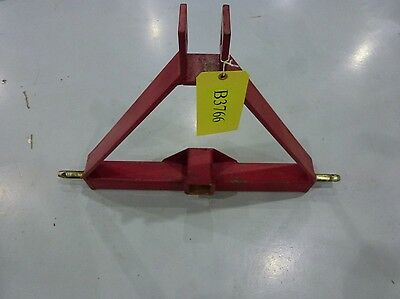 Red 3 Point Hitch Class 1 Tractor Hitch {Receiver Only}