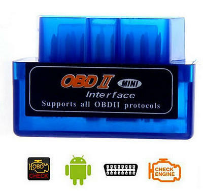New Super Mini ELM327 v2.1 OBD2 OBDII Bluetooth Adapter Auto Scanner ANDROID