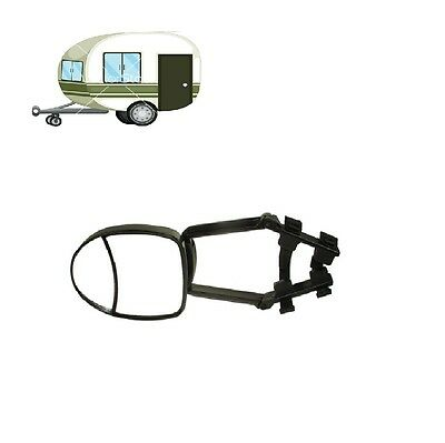 Caravan Single Deluxe Dual Glass Towing Extension Mirror Mp8326