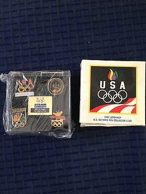 TEAM USA 1992 JC Penny Olympic Pin Collection set -Barcelona, Spain