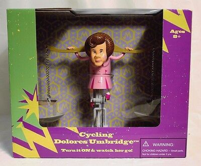 Wizarding World Of Harry Potter Cycling Dolores Umbridge Universal NEW W/ HP BAG