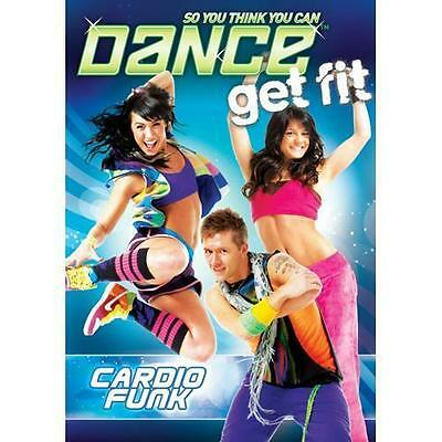 So You Think You Can Dance Get Fit: Cardio Funk (DVD, 2009) NEW SEALED