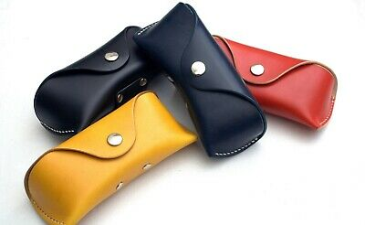 Celyfos ® Handmade Real Leather Sunglasses Case Glasses Case Bag Spectacle Case
