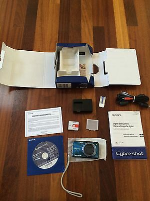 Sony Cyber-Shot Digital Camera Bundle DSC-W290