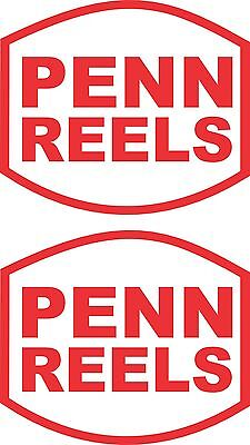 Penn Reels Stickers 2 x 280 x 240 Avery Marine Grade Material