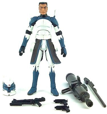 Star Wars: The Clone Wars 2011 CLONE COMMANDER WOLFFE (PHASE I) (CW48) - Loose