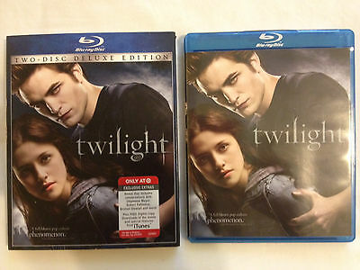 Twilight (Blu-ray Disc, 2009, 2-Disc Set, Deluxe Edition)LIKE NEW!FREE SHIPPING!