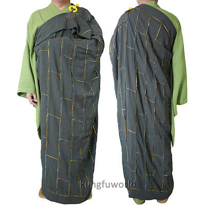 24 Colors Shaolin Buddhist Monk Dress Kesa Cassock with inside Haiqing Robes