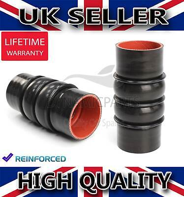 2x FORD FOCUS FIESTA TRANSIT CONNECT 1.8 TDCi INTERCOOLER TURBO HOSE PIPE