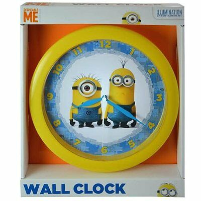 "Despicable Me Minions Wall Clock 10"" **NEW**"