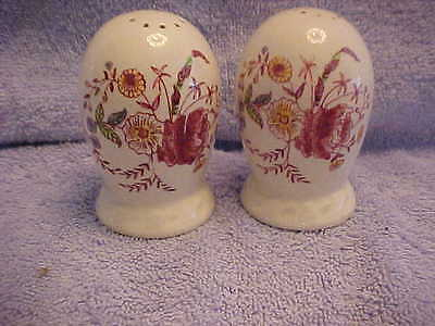 METLOX CHINA  Salt & Pepper Shakers CHINTZ