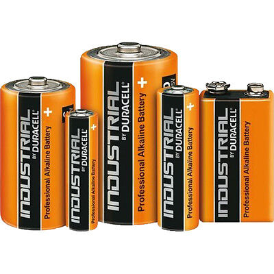 Duracell Industrial Alkaline Batteries Aa/aaa/9V/c/d Size Batteries Multiple Qty