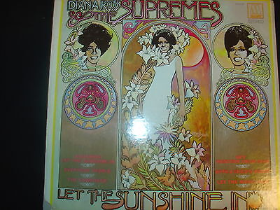 DIANA ROSS AND THE SUPREMES     LET THE SUNSHINE IN        LP        556