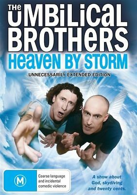 The Umbilical Brothers - Heaven By Storm (DVD, 2011) - Region 4