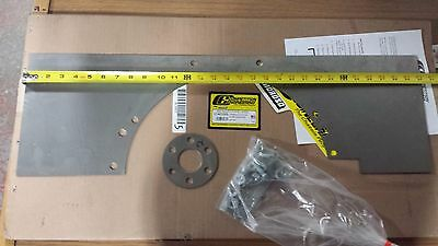 SBF STEEL Motor Mid Engine Plate .090 289-302 351C 351W SMALL BLOCK Ford