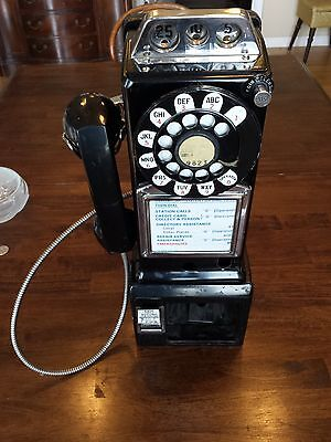 VINTAGE WESTERN ELECTRIC 197 GNT 3 SLOT PAYPHONE,PAY PHONE
