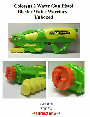 Colossus 2 Water Gun Pistol Blaster Water Warriors - Unboxed