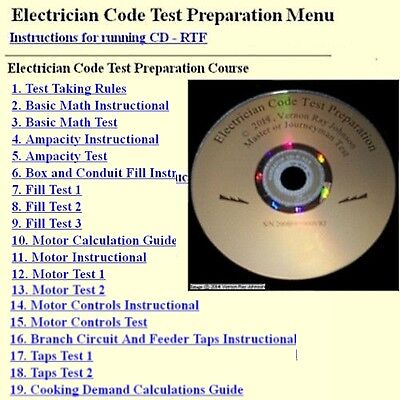 National Electrical Code Electrician Exam Electrical Training Practice Test 2014