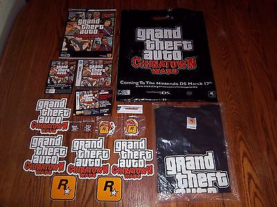 NEW Grand Theft Auto: Chinatown Wars (Nintendo DS, 2009) RARE Chopsticks + MORE!
