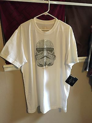 Marc Ecko Star Wars Stormtrooper Studded Shirt XL Limited Edition New With Tags