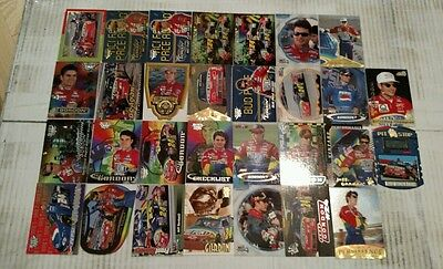 Jeff Gordon 30 card lot all different NASCAR
