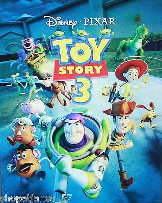 NEW Disney Store 2010 TOY STORY 3 ~ Limited Edition 3-D Lenticular Lithograph