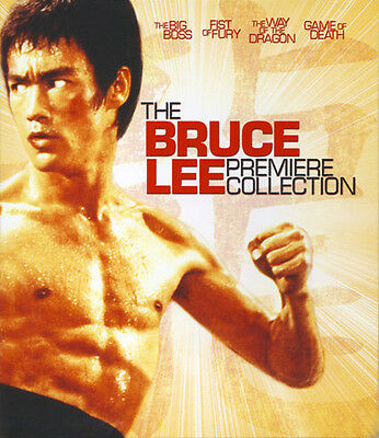 The Bruce Lee Premiere Collection BLU-RAY NEW [4 Disc]