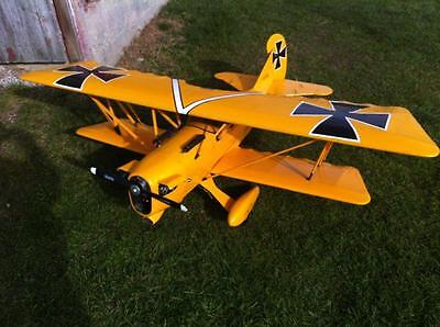 60 Inch Der Jager  D-IX  Giant Scale RC Model AIrplane Printed Plans
