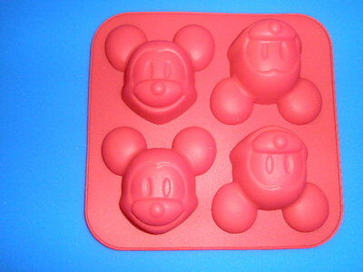 1pcs Four-Mouse Food Grade Silicone Cake/Jelly/Pudding  DIY Mold