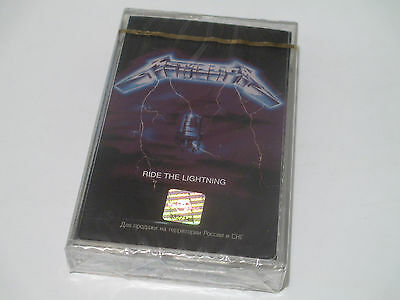 Metallica - Ride The Lightning (Cassette) Russia SEALED