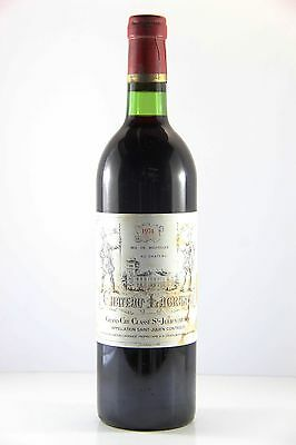 Chateau Lagrange 1974 Red Wine, Bordeaux