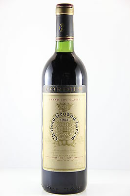 Chateau Gruaud Larose 1982 Red Wine, Bordeaux