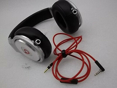 Beats Pro By Dr. Dre Monster Silver/Black Headphones Only Retail Box (11127)