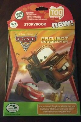 """Leapfrog Tag Disney Cars 2 """"Project Undercover"""""""