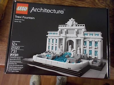 NEW LEGO Architecture Trevi Fountain of Rome, Italy