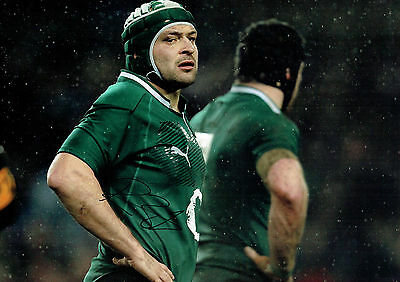 Rory BEST Signed Autograph 18x12 RARE Ireland RUGBY Union Photo AFTAL COA