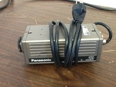 Panasonic CCD WV-CD 20 TV camera Body Without lens