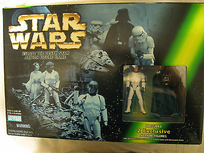 STAR WARS ESCAPE THE DEATH STAR ACTION FIGURE GAME (MIB !!)