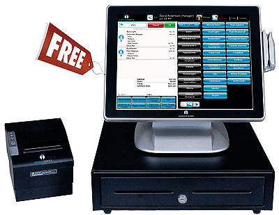 FREE POS System Nightclub Restaurant Bar Deli Diner Cafe Pizza Pizzeria 45gt