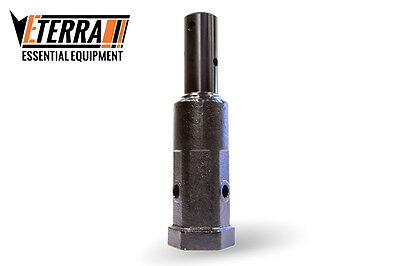 "Auger Adapter - 2"" Hex - 2"" Round - Excavator & Skid Steer Auger Adapter"